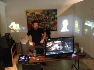 Darren prepares for the Tutti Music Player™ launch in Miami, Florida